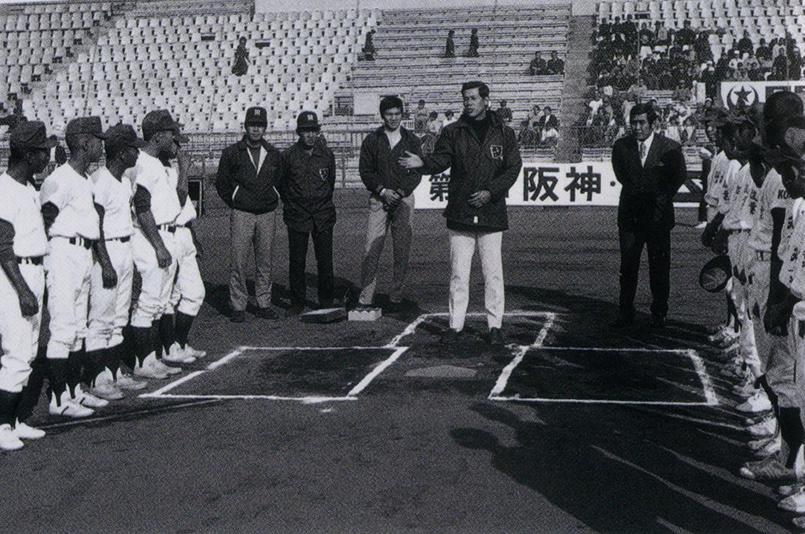 1963年、あすなろ野球大会を開催...