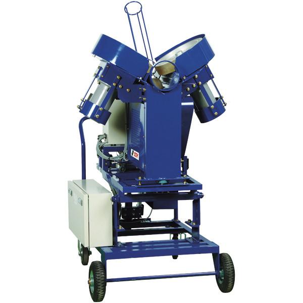 【品番:SMA91】硬式3ローター式 ピッチングマシン