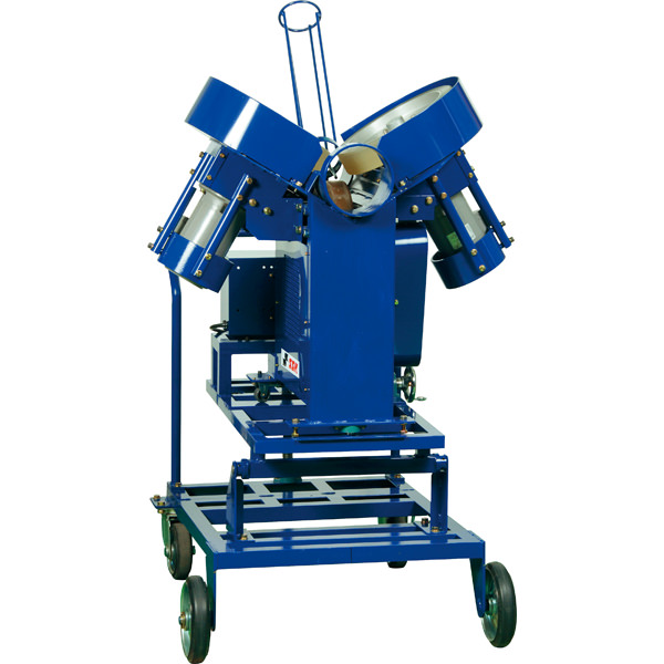 【品番:SMA93】硬式3ローター式 ピッチングマシン