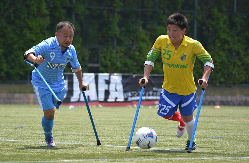 アンプティサッカー「レオピン杯」が5/13-14開催!