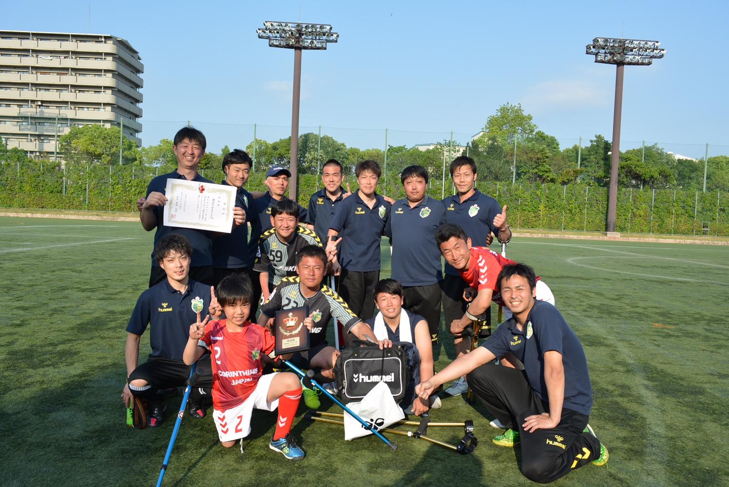 レオピン杯で関西セッチエストレーラスが準優勝!