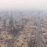 山火事にあったサンタ・ローザ市にウェアを寄贈