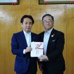 日本スポーツ協会へ寄付金贈呈『次世代の育成に』