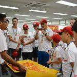 中国の少年野球チームと交流「道具を大切に野球を楽しむ」