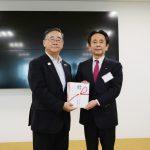 日本スポーツ協会やJOCへ寄付金贈呈『次世代の育成に』