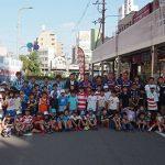 東大阪・布施駅前で体験イベント「誰もがスポーツを楽しめる社会を」